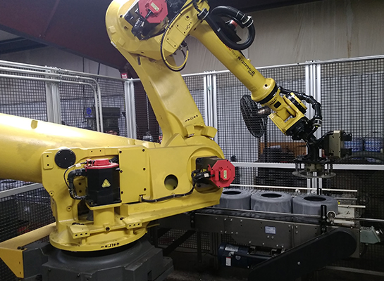 Rosewood Machine and Tool Robotic Cell